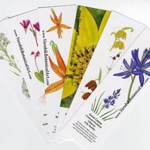 Bookmark Set: Wildflowers I
