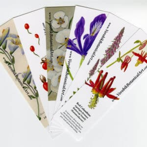 Bookmark set: Wildflowers II